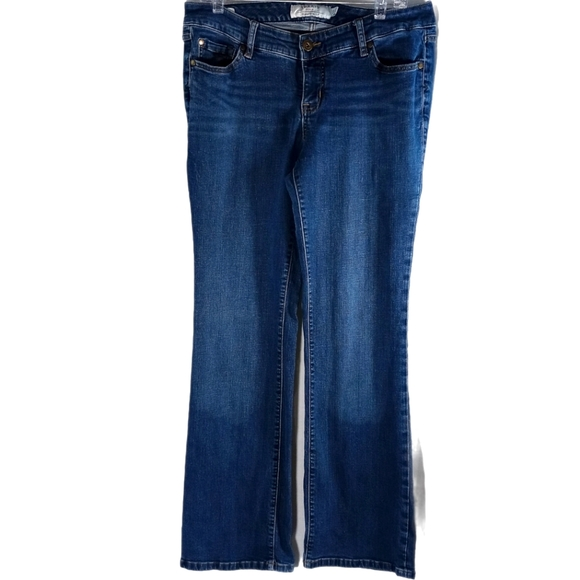 Torrid Relaxed Fit Boot Blue Denim Jeans Size 10